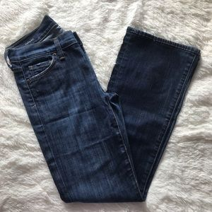 Citizens of Humanity dark wash bootcut size 25